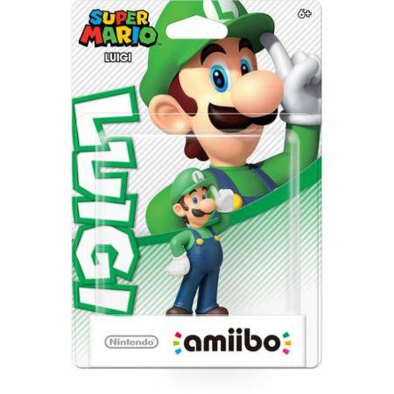 Amiibo Luigi Super Mario Figure