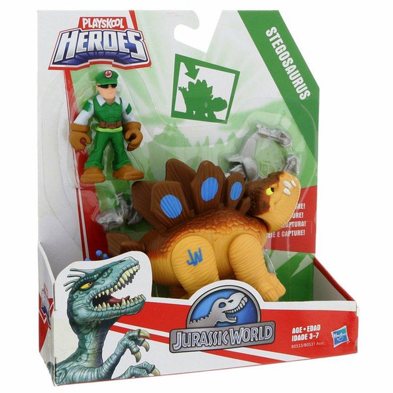 Playskool Assorted Heroes Jurassic World Tracker Dinos