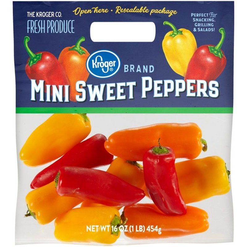 Kroger Mini Sweet Peppers