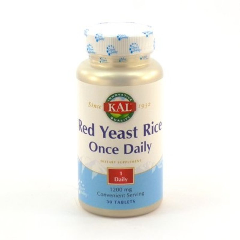 Kal Red Yeast Rice 1200 mg Tablets