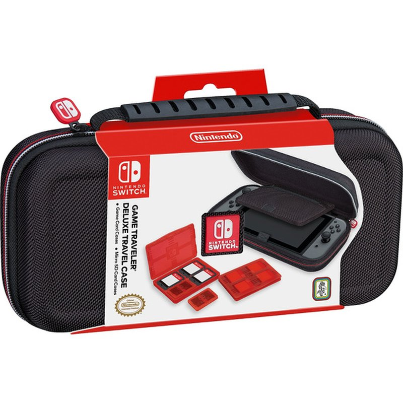 RDS Industries, In Nintendo Switch Game Traveler Deluxe Travel Case