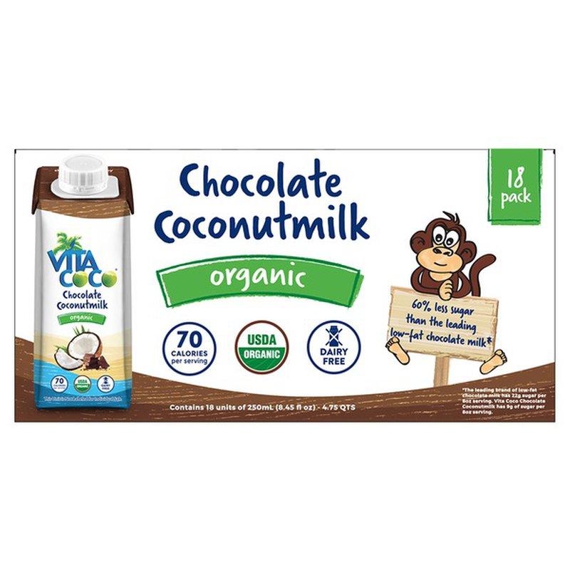 Vita Coco Organic Chocolate Coconut Milk