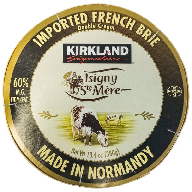 Kirkland Signature Isigny French Brie, 13.4 oz