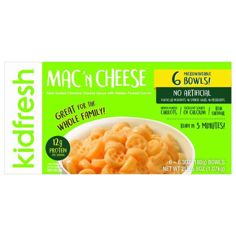 Kidfresh Frozen Macaroni & Cheese