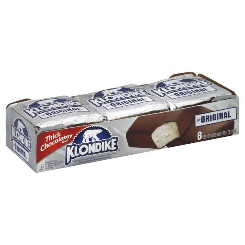 Klondike Ice Cream Bars Original (4.5 fl oz) from FoodMaxx ...