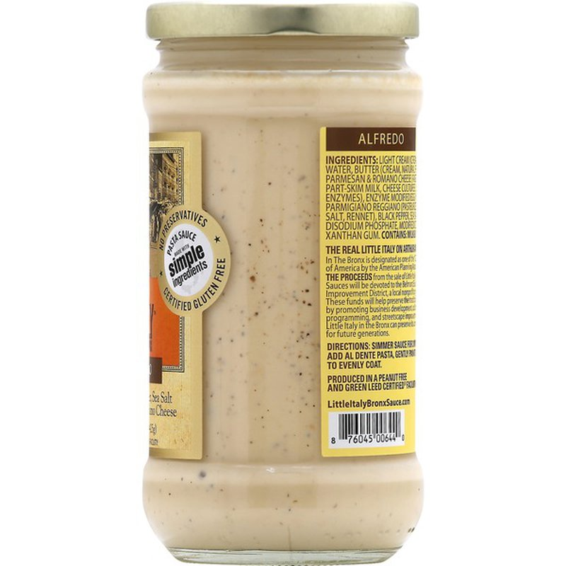 Little Italy in the Bronx Pasta Sauce, Alfredo