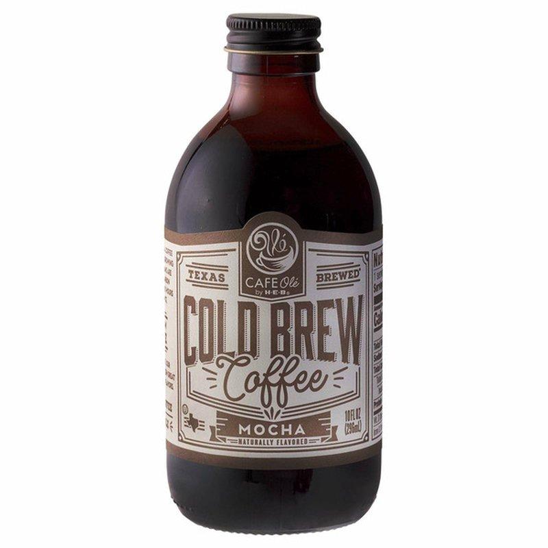 H-E-B Cafe Ole Mocha Cold Brew Coffee