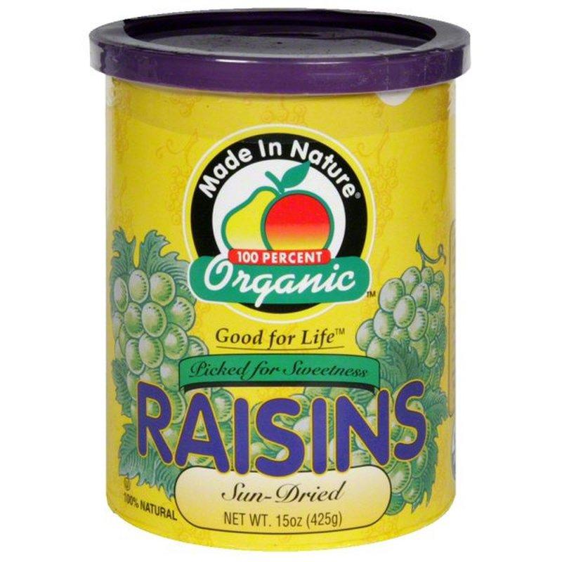 Made In Nature Raisins