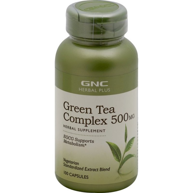 Gnc Green Tea Complex 500 Mg Capsules 100 Each Instacart