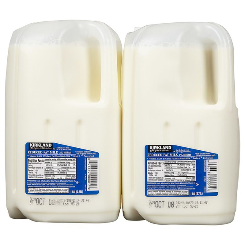 Kirkland Signature 2% Reduced Fat Milk 2 Pack