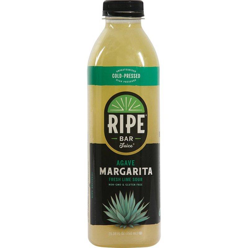 Ripe Bar Juice Agave Margarita Fresh Lime Sour 25 36 Oz
