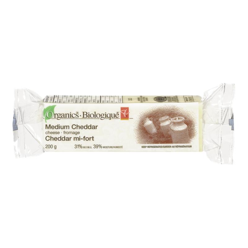 President's Choice Medium Organic Cheddar Cheese