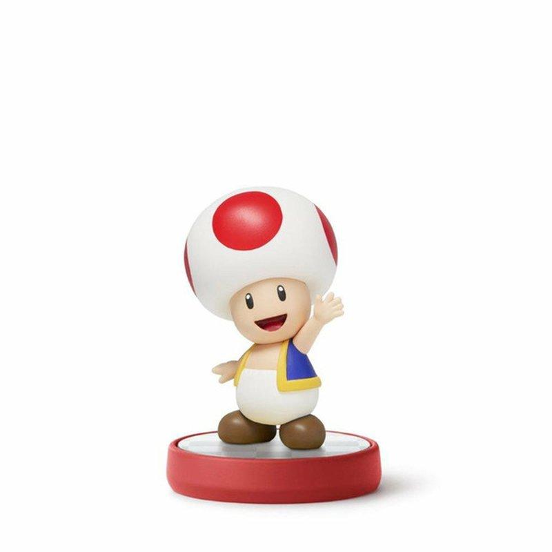 Amiibo Toad Super Mario Figure For Nintendo 3DS & Wii U