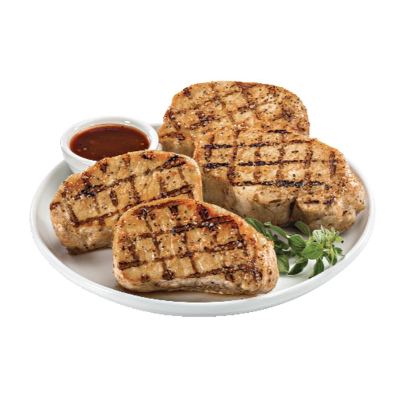 Boneless Center-Cut Thin Pork Chops, Package