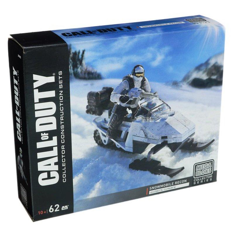 Mattel Mega Bloks Call of Duty Snowmobile Recon Collectors Construction Set