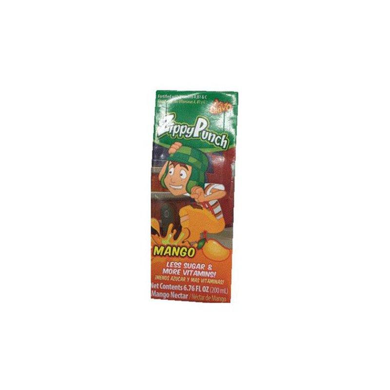 El Chavo Zippy Punch Mango Nectar Juice