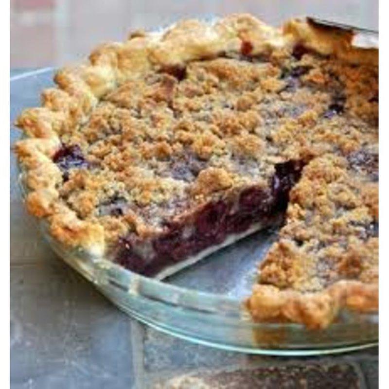 "8"" Cherry Crumb Pie"