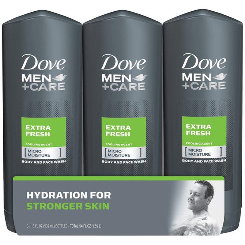 Dove Men Care Body Wash Extra Fresh 18 Oz Instacart