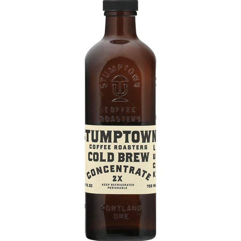 Stumptown Coffee Concentrate 2x Cold Brew 25 4 Oz Instacart
