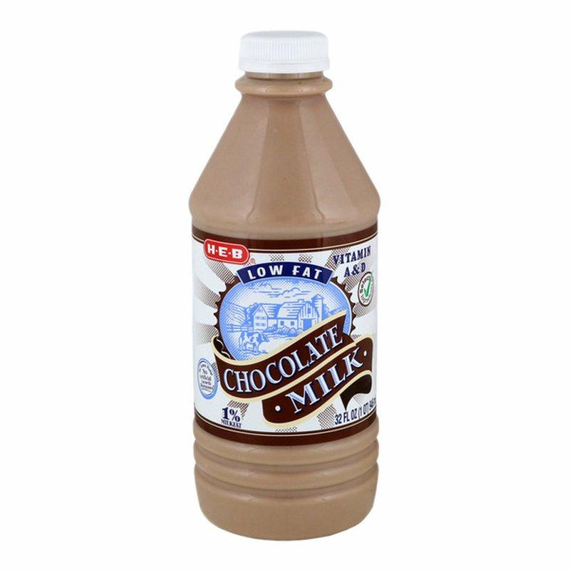 H-E-B 1% Low Fat Chocolate Milk