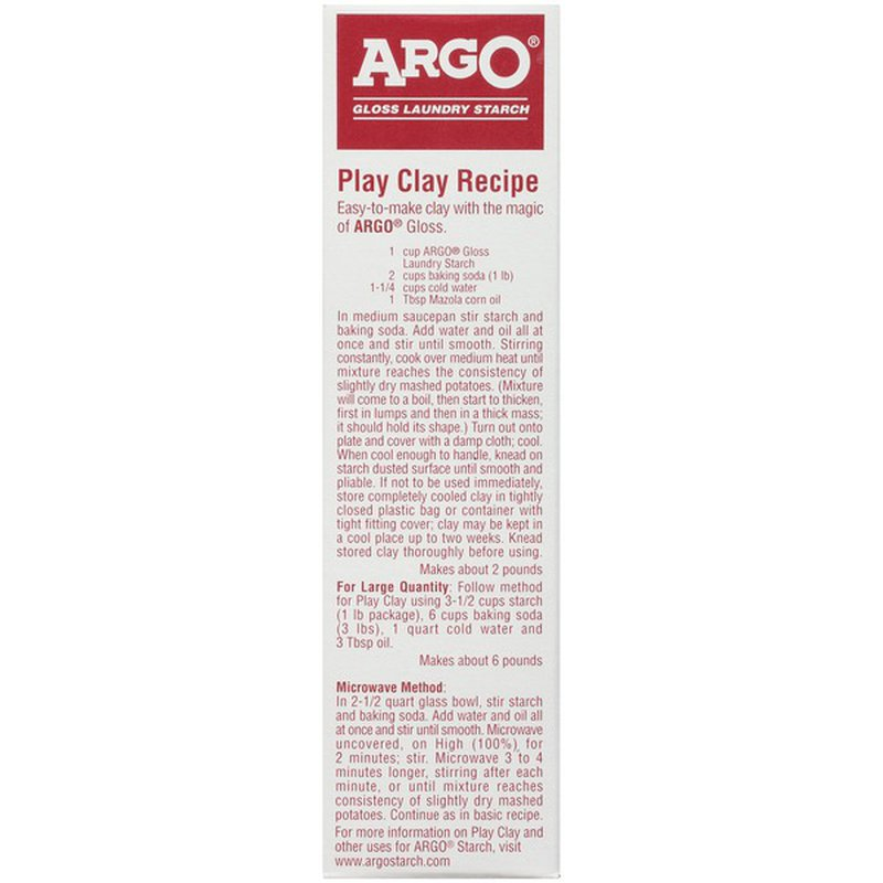Argo Gloss Laundry Starch 16 Oz Instacart
