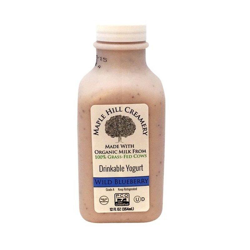 Maple Hill Creamery Drinkable Wild Blueberry Yogurt
