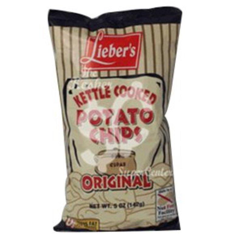 Lieber's Kettle Cooked Potato Chips Original