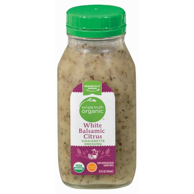 Simple Truth Organic White Balsamic Citrus Vinaigrette Salad Dressing