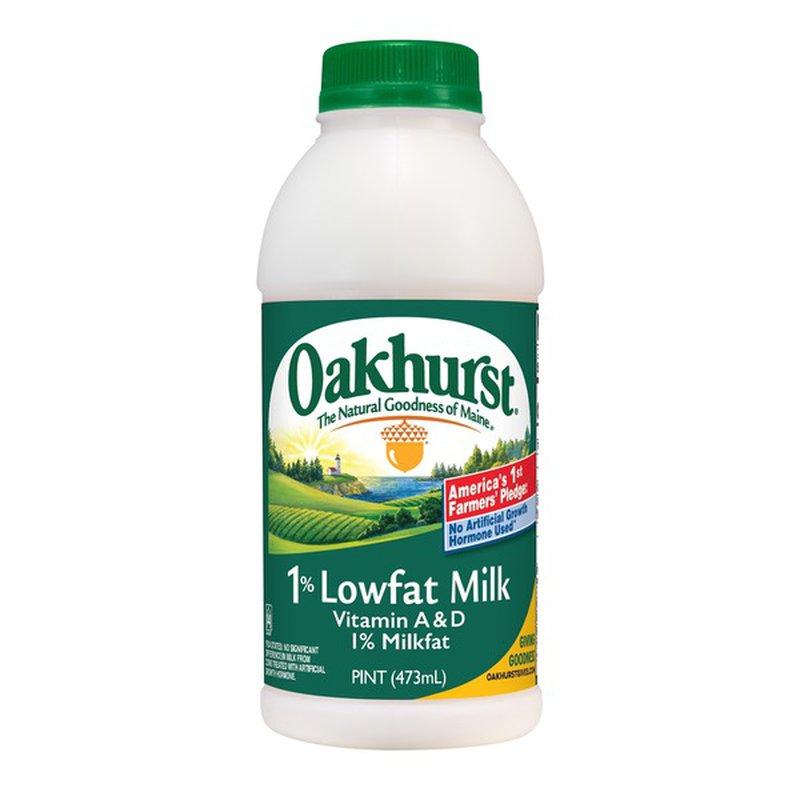 Oakhurst Dairy 1% Lowfat Milk