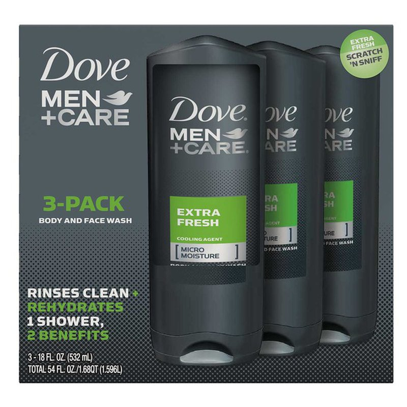 Dove Men Care Body Wash Extra Fresh 18 Oz Instacart