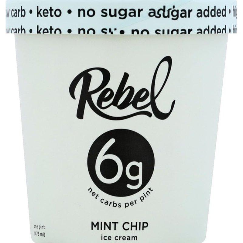Rebel Ice Cream, Mint Chip