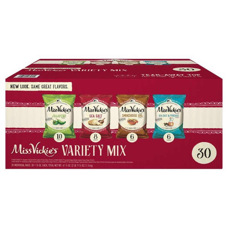 Miss Vickie's Variety Pack Potato Chips
