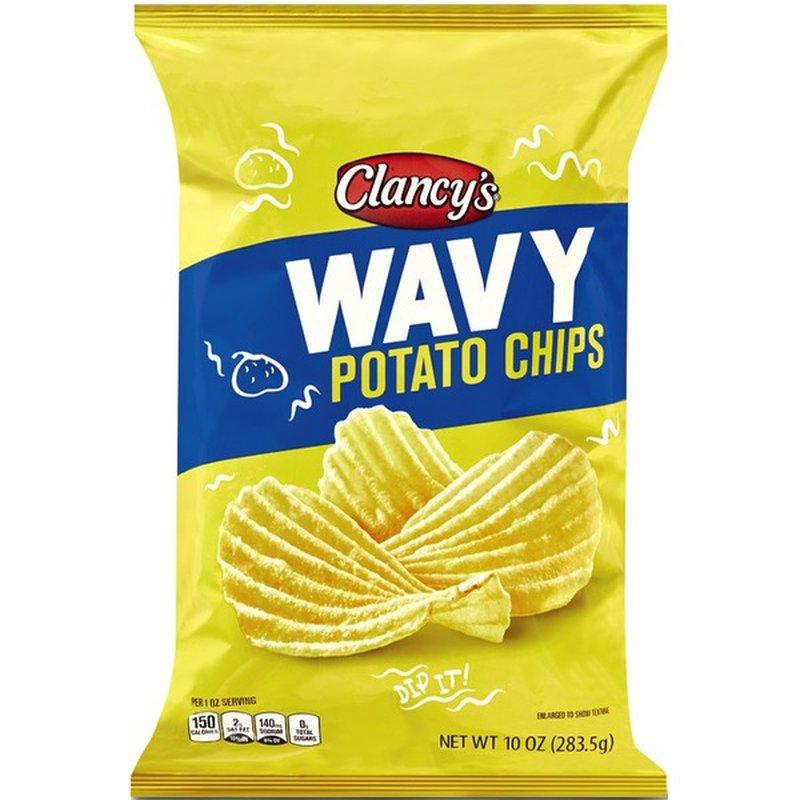 Clancy's Wavy Potato Chips