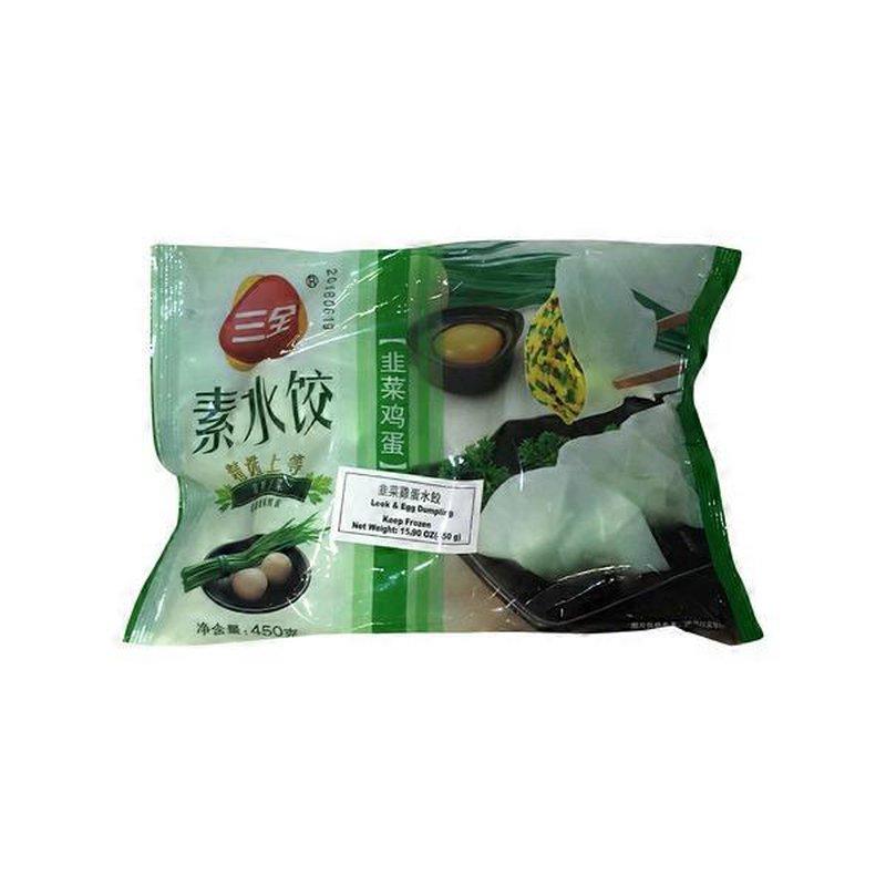 Sanquan Leek & Egg Dumpling
