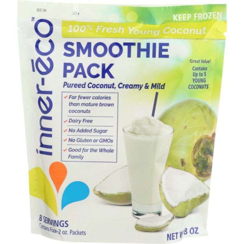 Inner Eco Puree Pack, Coconut