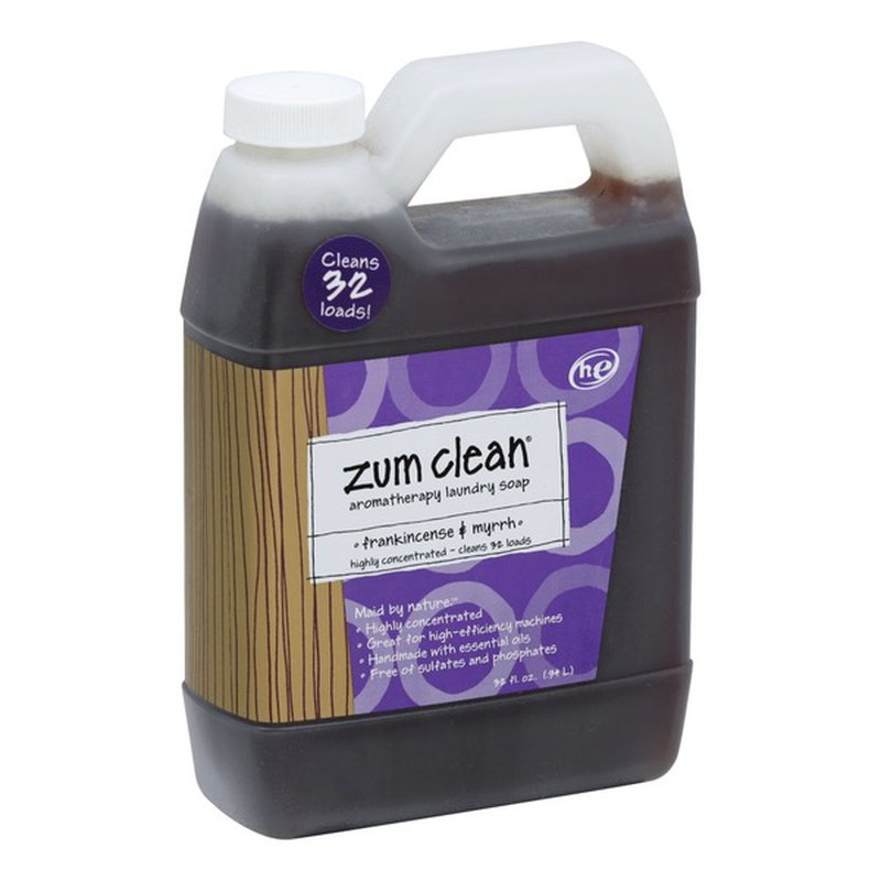 Zum Clean Laundry Soap Aromatherapy He Frankincense Myrrh 32