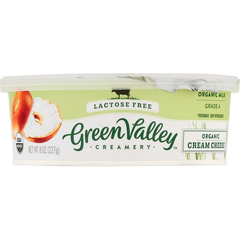 Green Valley Organics Organic Lactose Free Cream Cheese 8 Oz Instacart