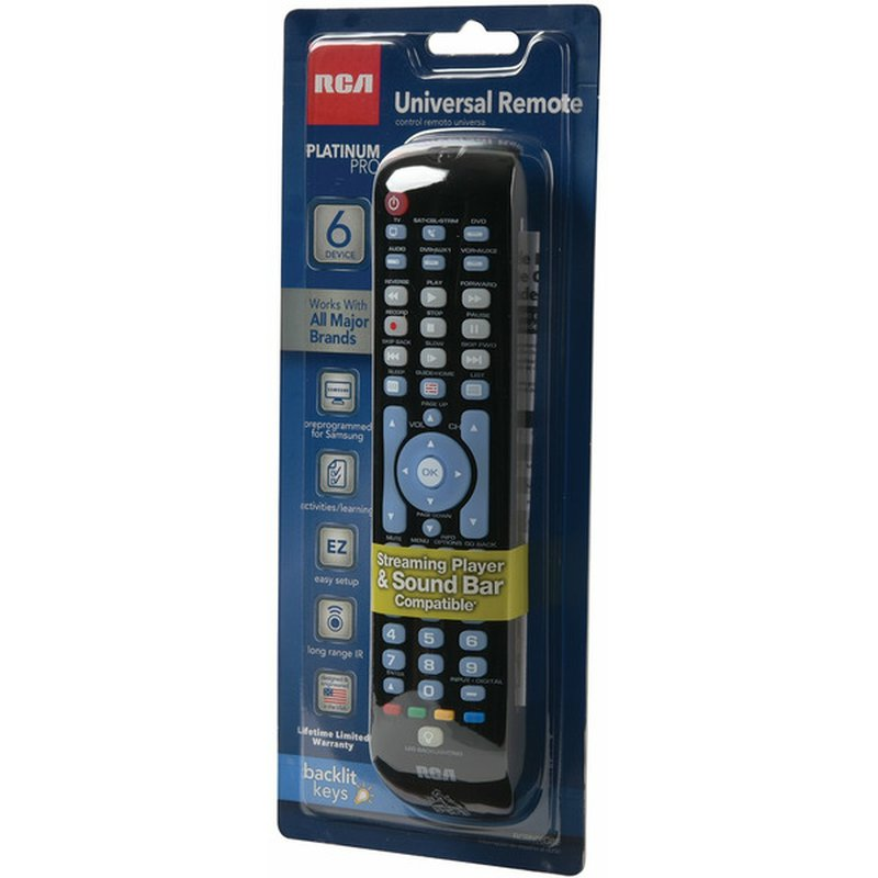 RCA Universal Remote With Presets