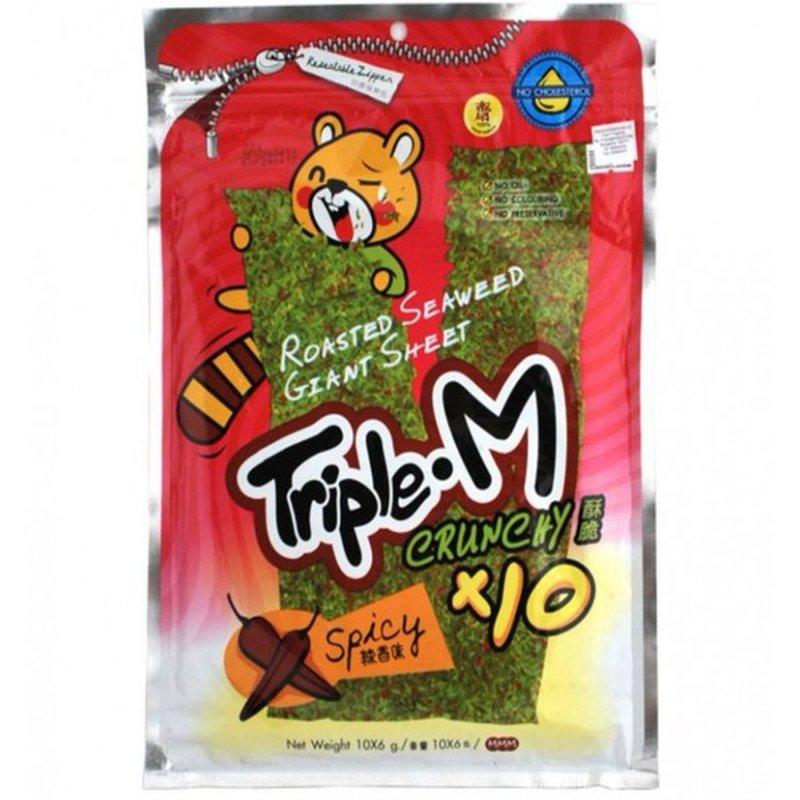 Triple M Spicy Roasted Seaweed Sheet