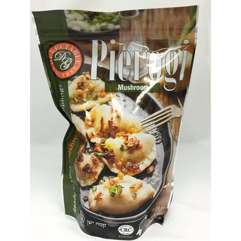 Delectable Gourmet Organic Mushroom Pierogi