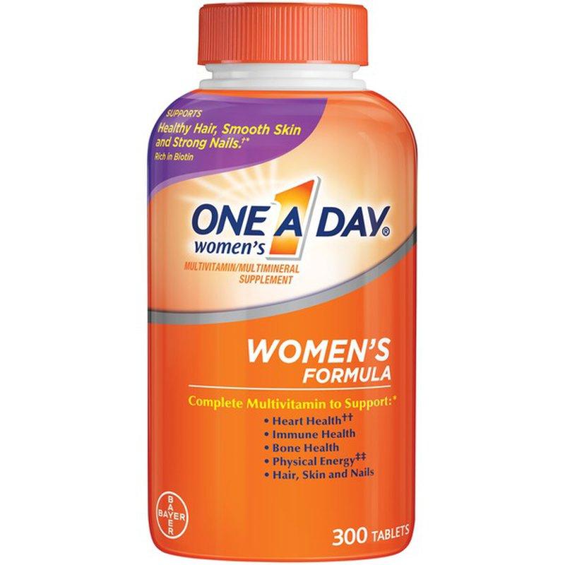 One A Day Women S Multivitamin 300 Ct Instacart