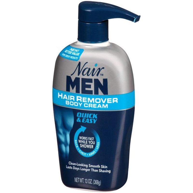 Nair Hair Remover For Men Hair Remover Body Cream 13 Oz 13 Oz