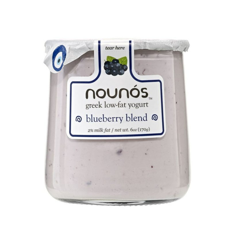 Nounos Blueberry Blend Greek Low-fat Yogurt