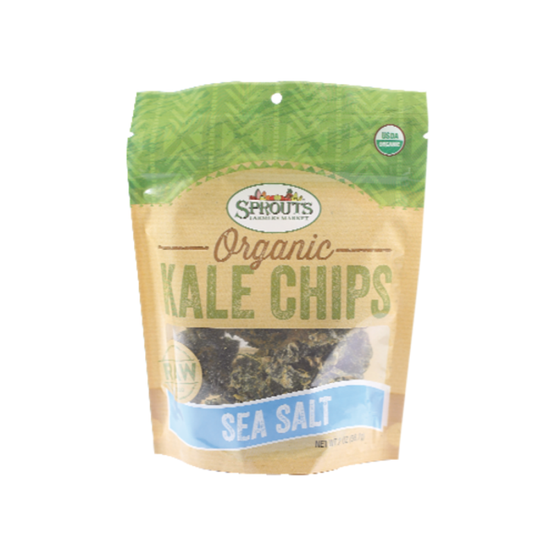 Sprouts Organic Sea Salt Kale Chips