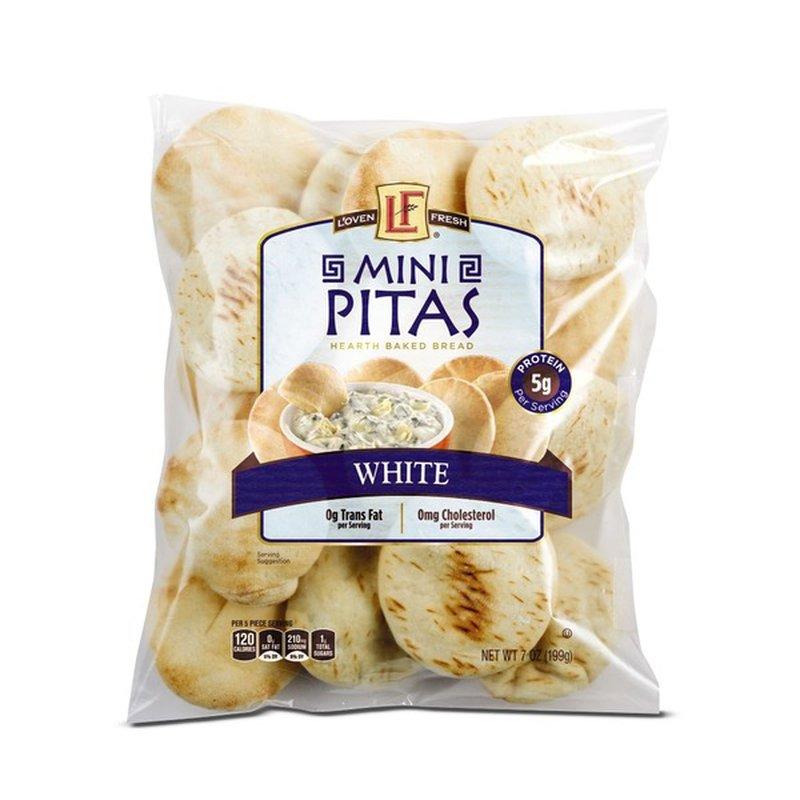 L'oven Fresh Mini White Pitas