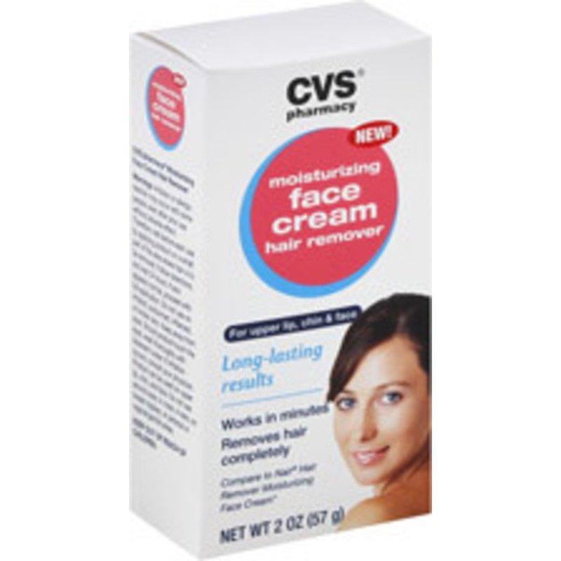 Cvs Pharmacy Moisturizing Face Cream Hair Remover 2 Oz Instacart