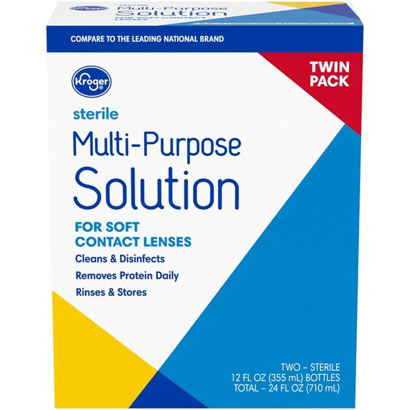 Kroger Multi Purpose Contact Lens Solution