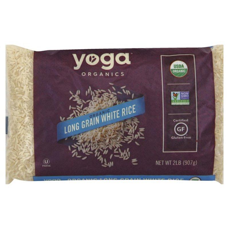 Yoga Organic Long Grain White Rice