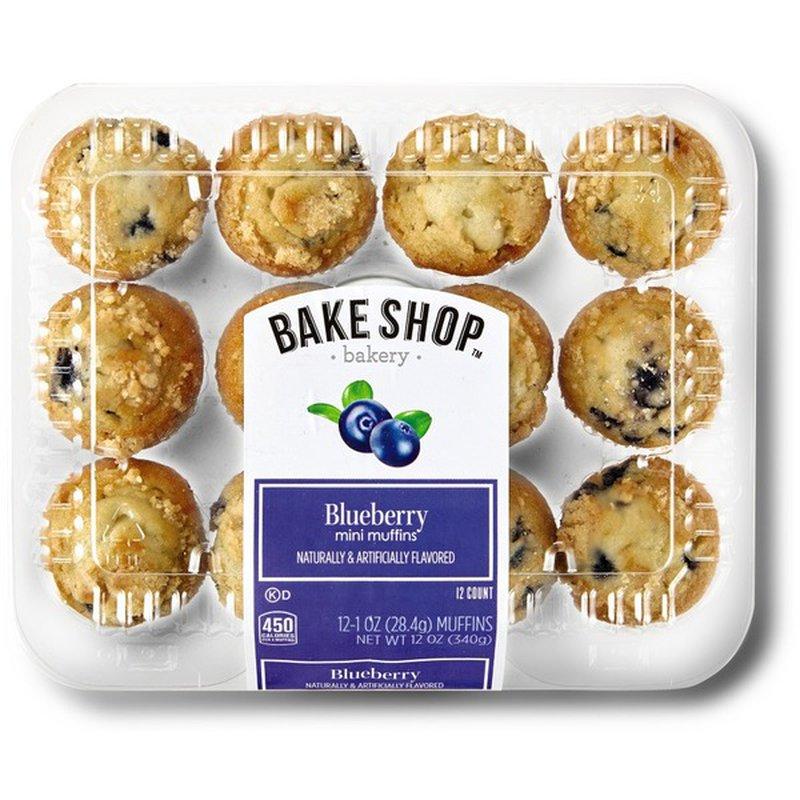 Bake Shop Mini Blueberry Muffins