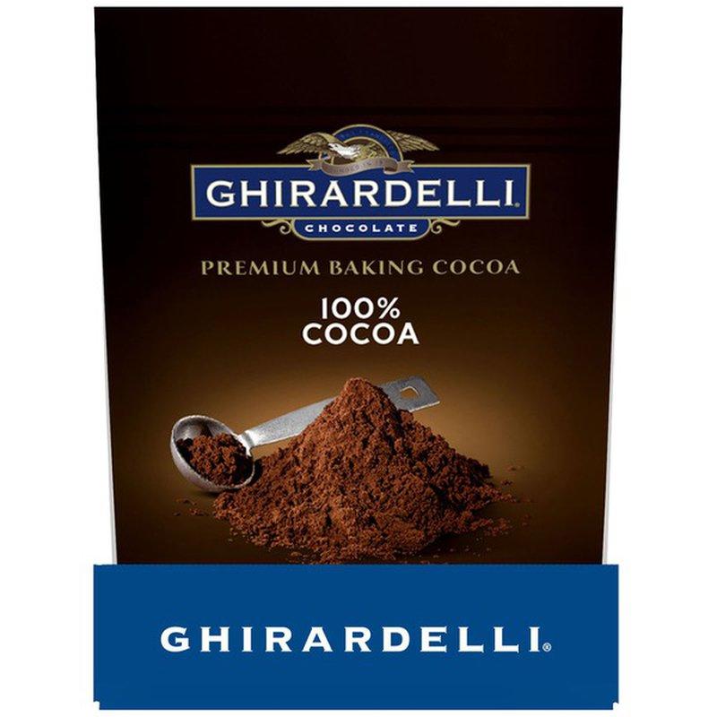 Ghirardelli Chocolate Premium Baking Cocoa 100% Cocoa Unsweetened Cocoa Powder